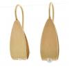 ungebohrte Perle, 750/- Gold